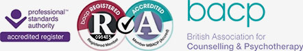 Professional Standards Authority Accredited Register, BACP Registered & Accredited, BACP - British Association for Counselling & Psychotherapy