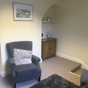 Therapy room in Chester city centre